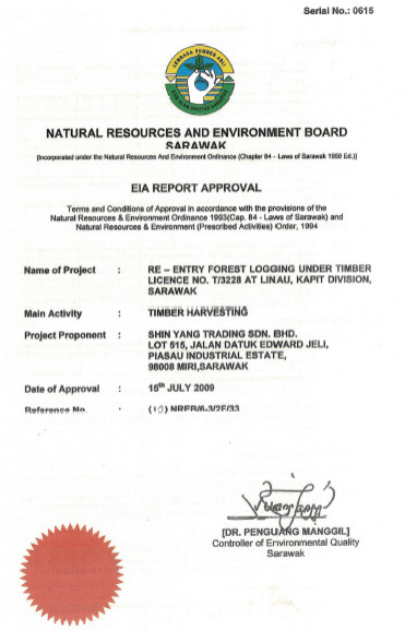 eia report approval
